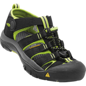 Keen Newport H2 Sandals Kids black/lime green